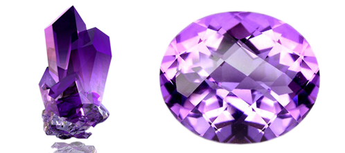 png freeuse download Transparent stone amethyst. Neelam ratn crystal