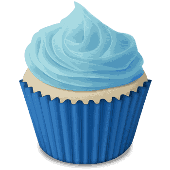 svg royalty free library Cupcake