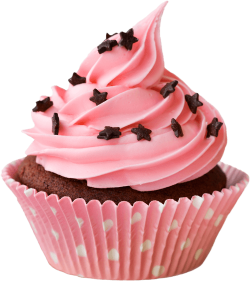 picture Cupcake Pink transparent PNG