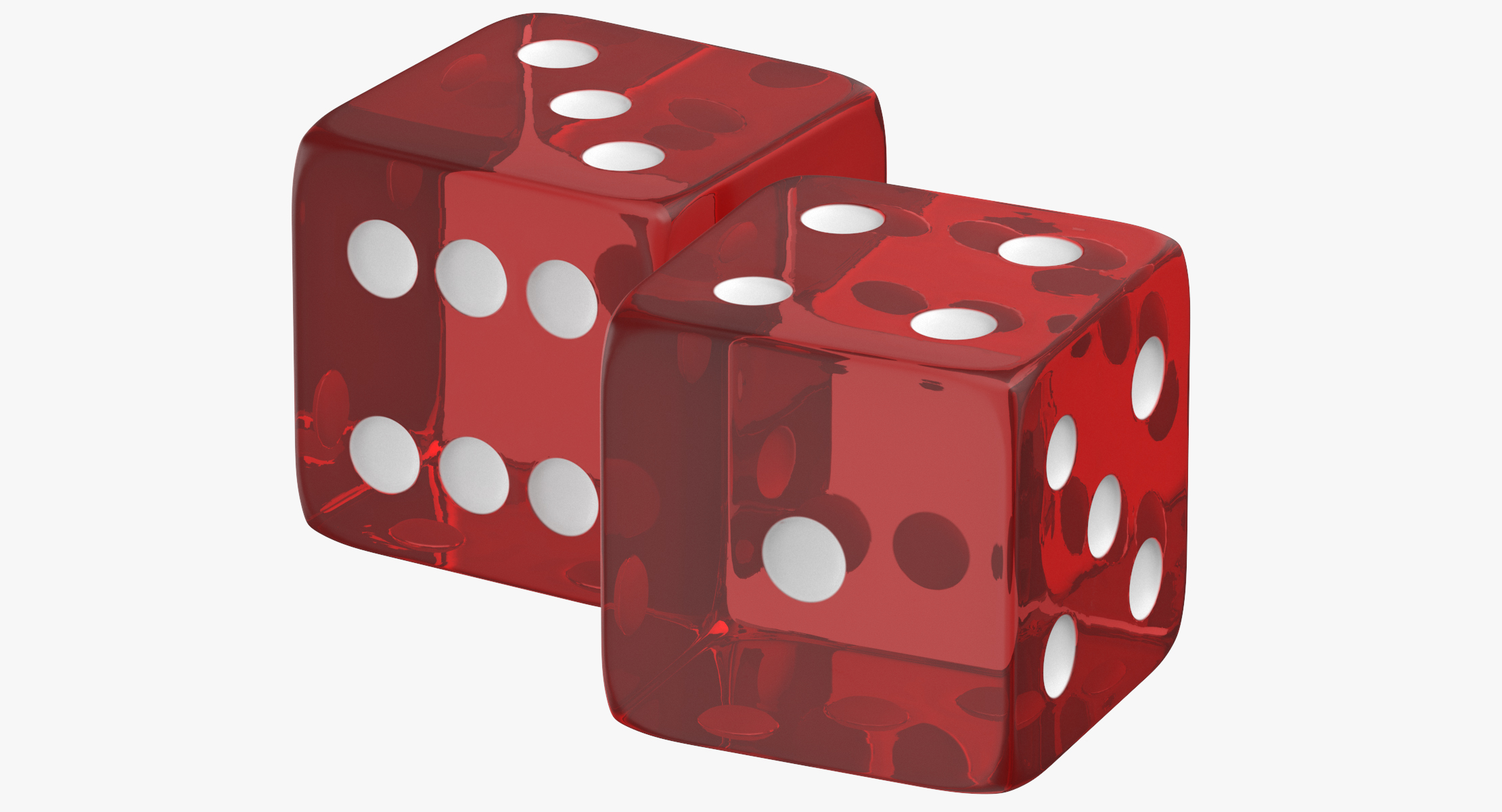 png stock Transparent dice. Red