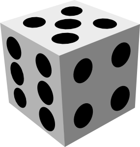 vector royalty free Dice Clip Art at Clker