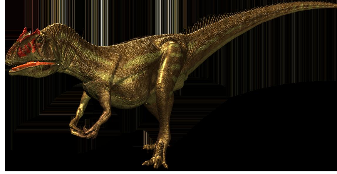 vector transparent download Allosaurus