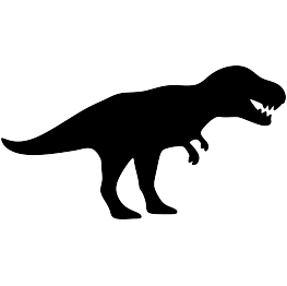 banner royalty free download Tyrannosaurus Rex Silhouette at GetDrawings