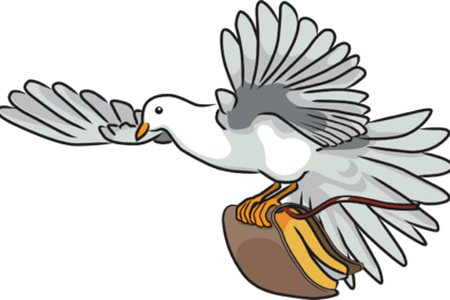 graphic Collection of free Vector dove bible