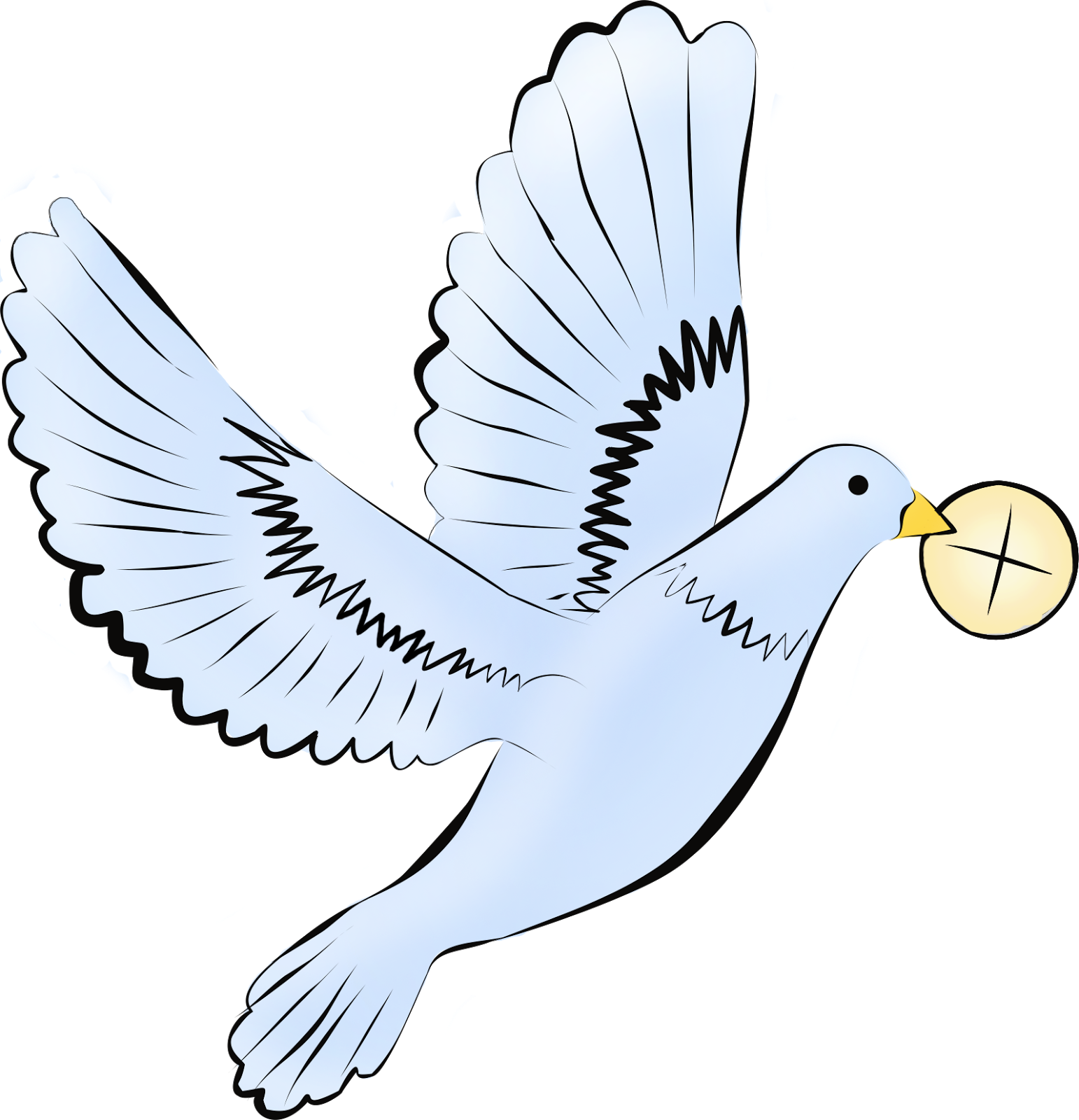 svg free transparent dove first communion #105612641