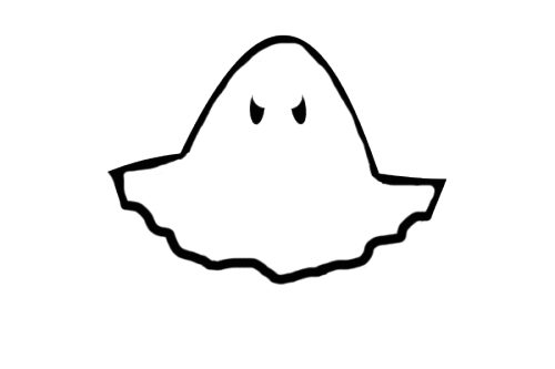 vector library Transparent draw. Halloween ghost hannibal stuffimade.