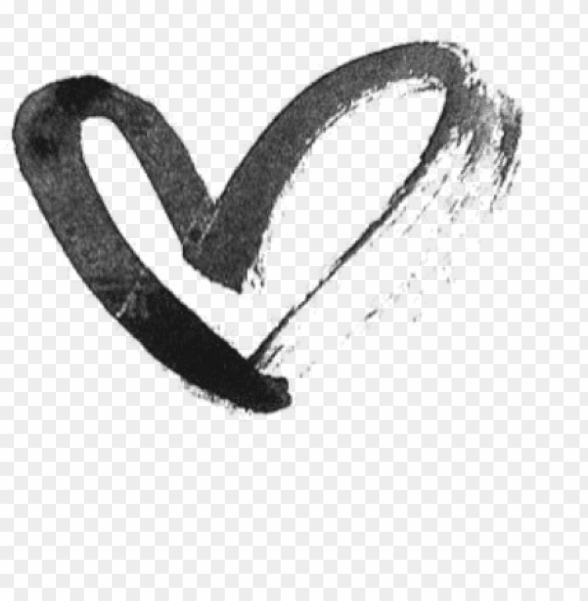 clip royalty free Heart hearts drawing black. Transparent draw.