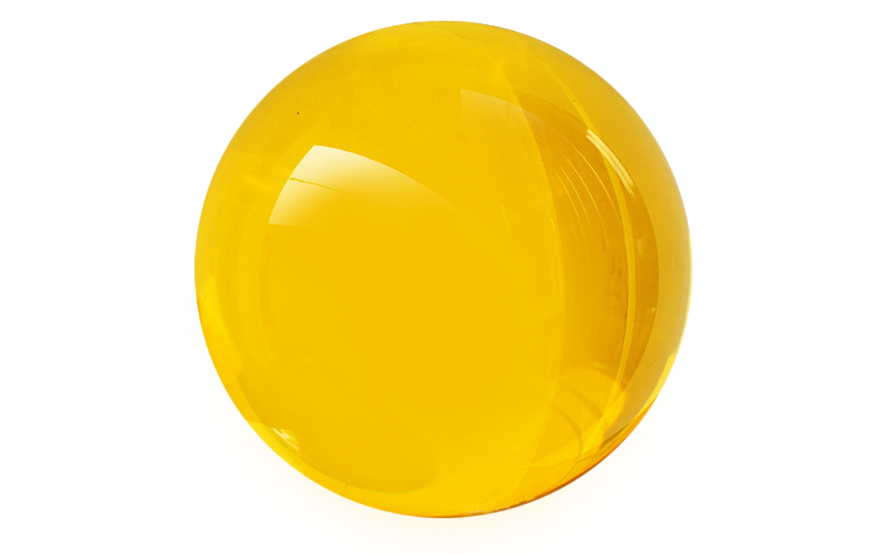 png stock Solid Color Glass Sphere
