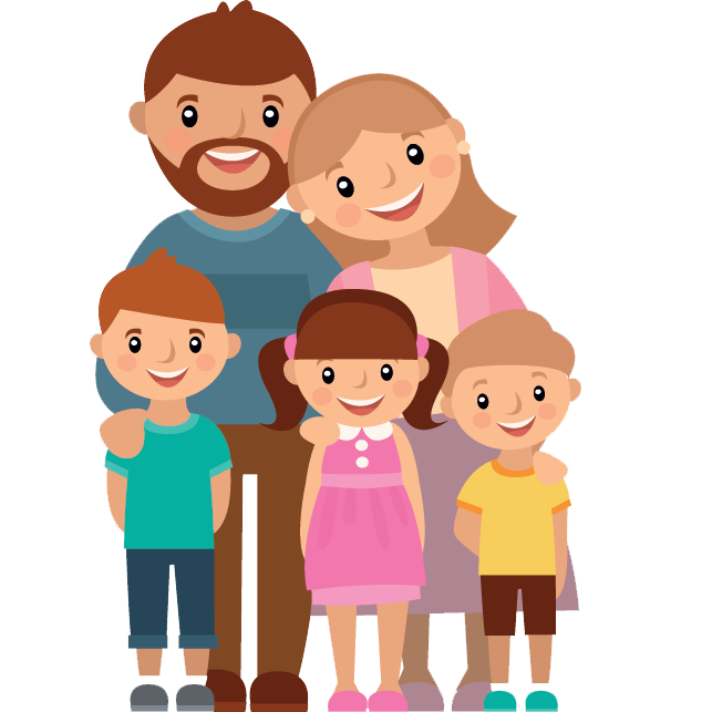 clip library library  cartoon png for. Vector cartoons family