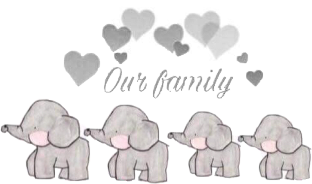 svg library elephant family ourfamily elephants grey lovefreetoedit