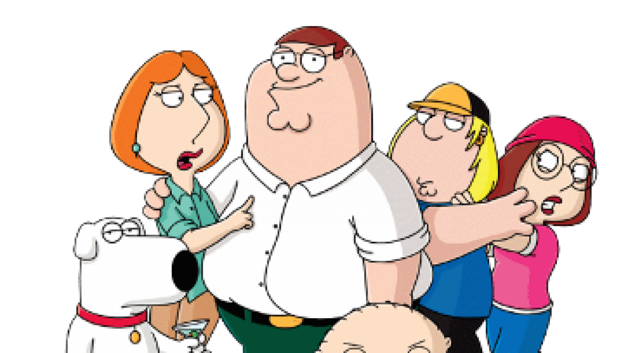 banner library transparent family guy #116852642