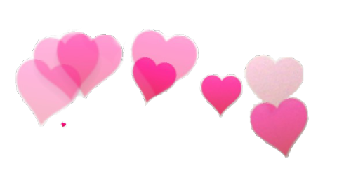 free stock photobooth hearts transparent