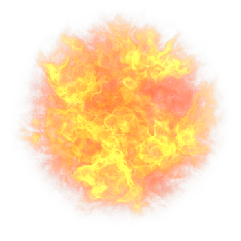 graphic stock Transparent fireball.  png for free.