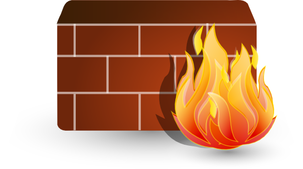 picture black and white stock Transparent firewalls visio. Firewall stencil images of
