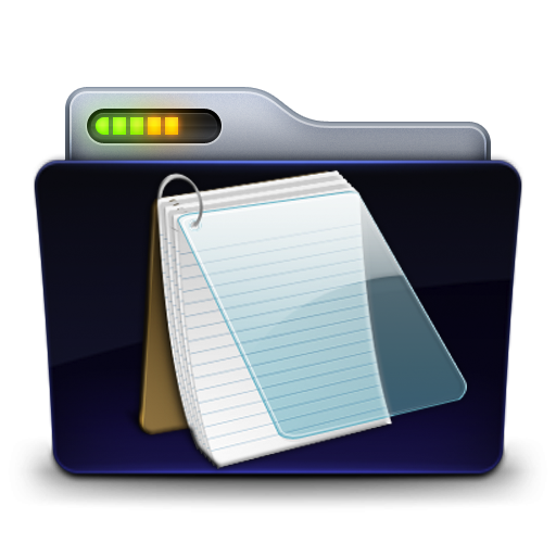 graphic black and white download Documents Folder Icon by zeaig on DeviantArt