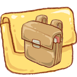 png freeuse School Bag Folder Icon