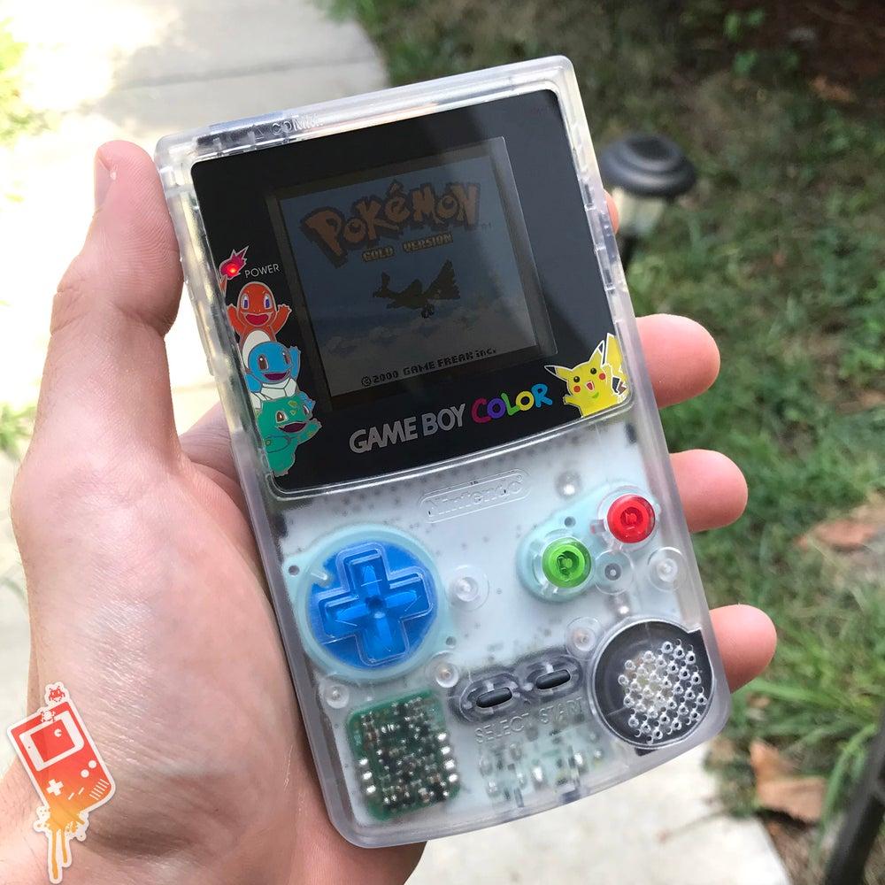 clipart free download Pokeboy backlit color . Transparent gameboy.