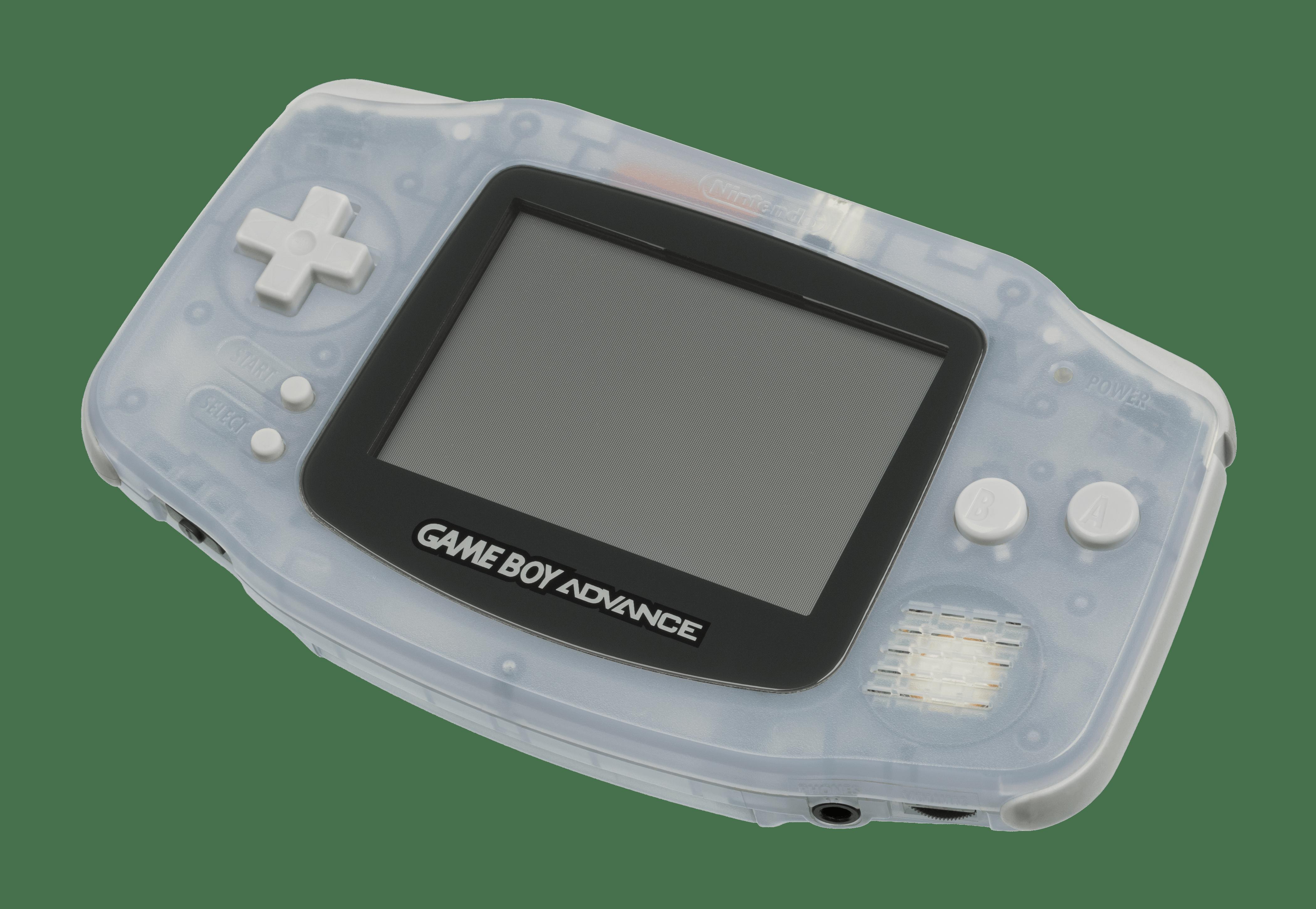 clipart transparent Nintendo game boy advance. Transparent gameboy.