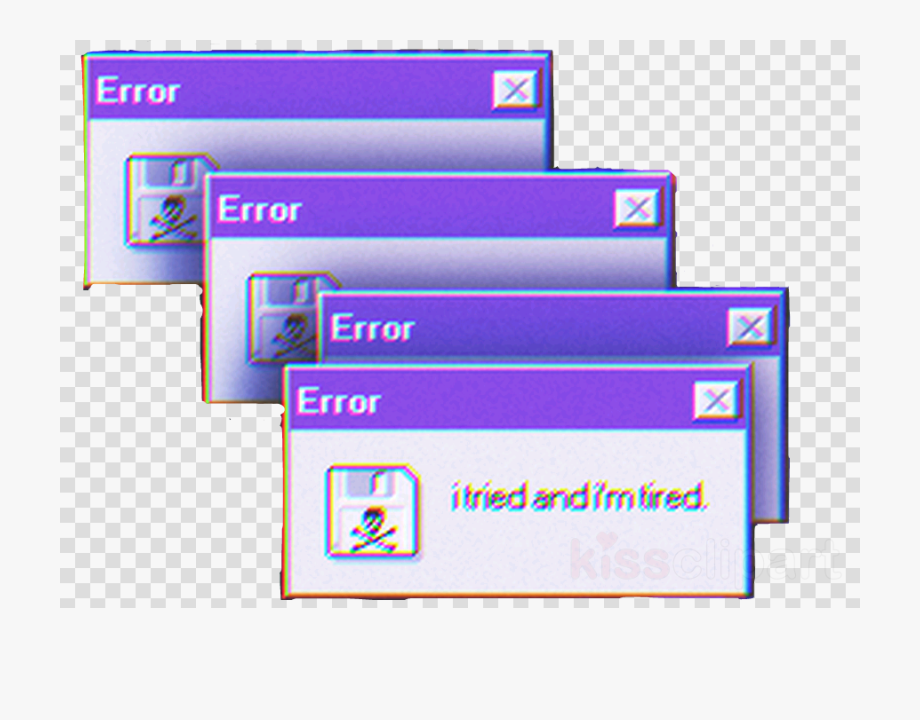 png freeuse stock Png aesthetic free . Transparent glitch error.
