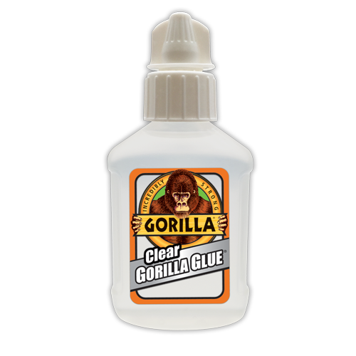 vector library download Clear gorilla. Transparent glue.
