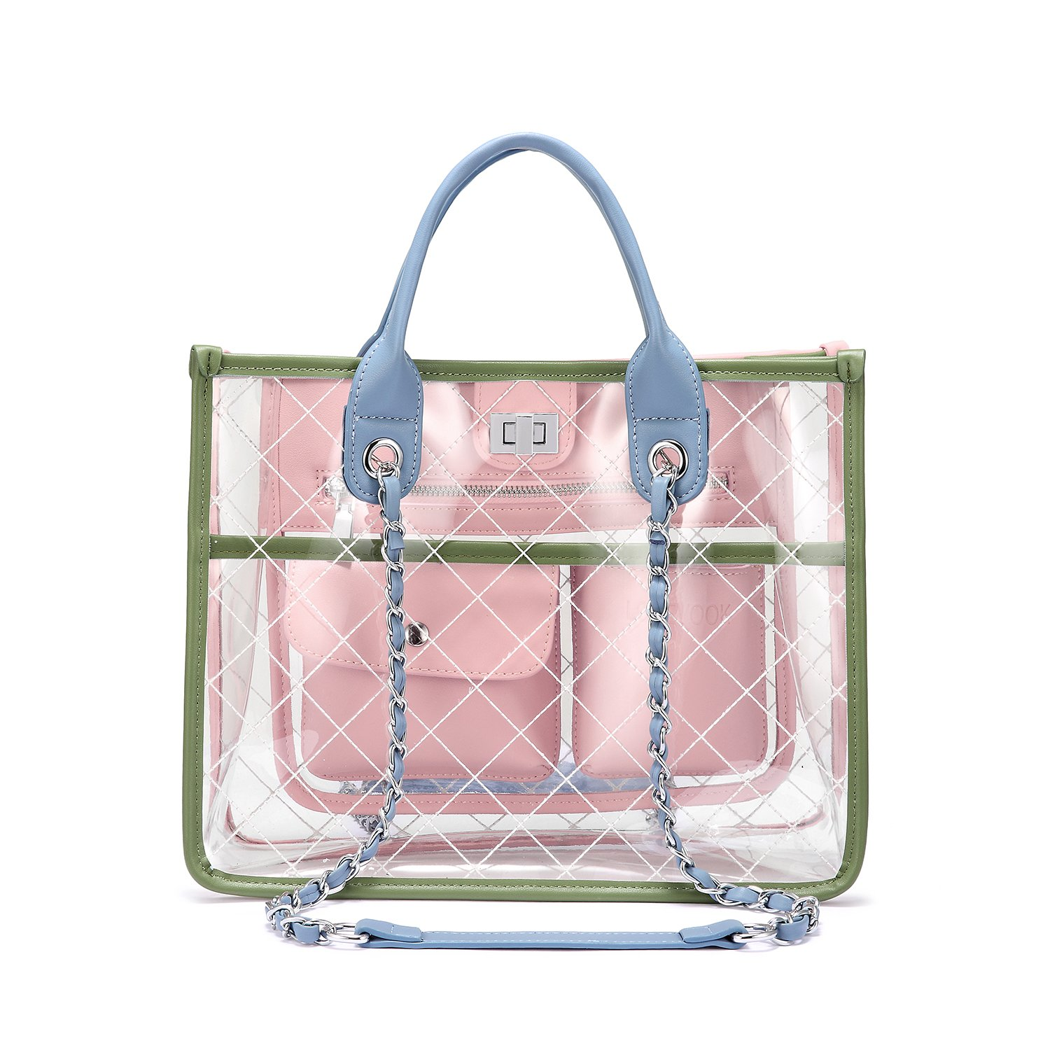 clip freeuse Lovevook luxury for women. Transparent handbag