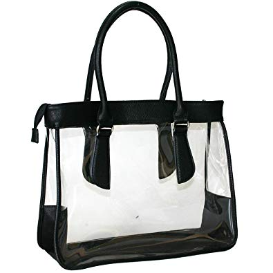 jpg free download Clear bag women purse. Transparent handbag