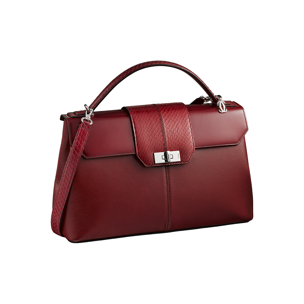 png Cartier Red Women Hand Bag PNG Image