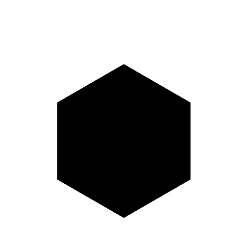 vector royalty free download transparent hexagon black #105893106