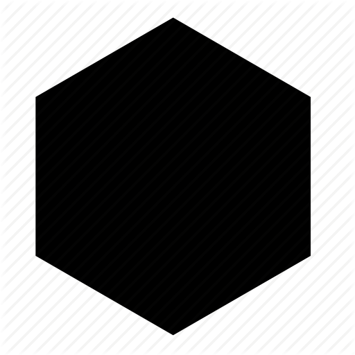 png black and white vector hexagon illustrator #107959715