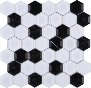 jpg royalty free transparent hexagon glass #105900803