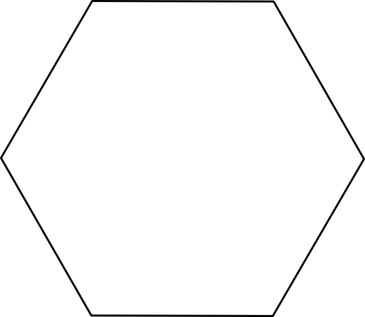 clipart freeuse library transparent hexagon regular #105894901