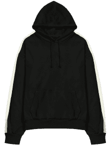 picture black and white download transparent hoodie black #105903777