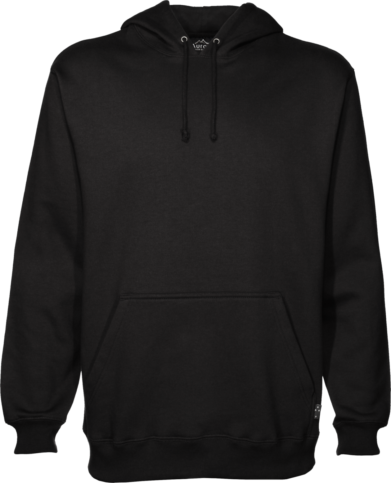 clipart library transparent hoodie blank black #105909726