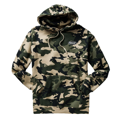 graphic library library Camo Hoodie