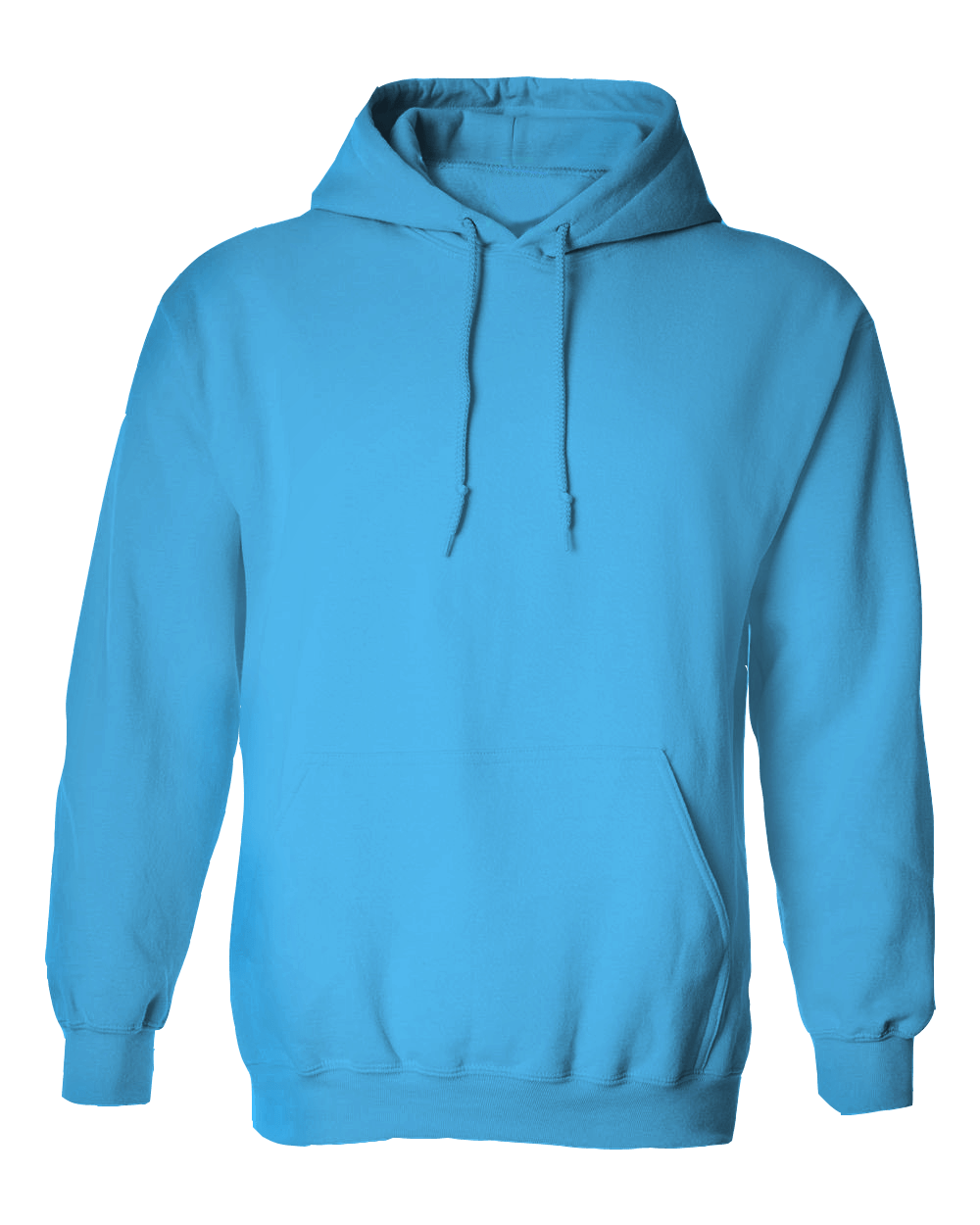 banner black and white stock Sky Blue Hoodie Jacket without Zipper