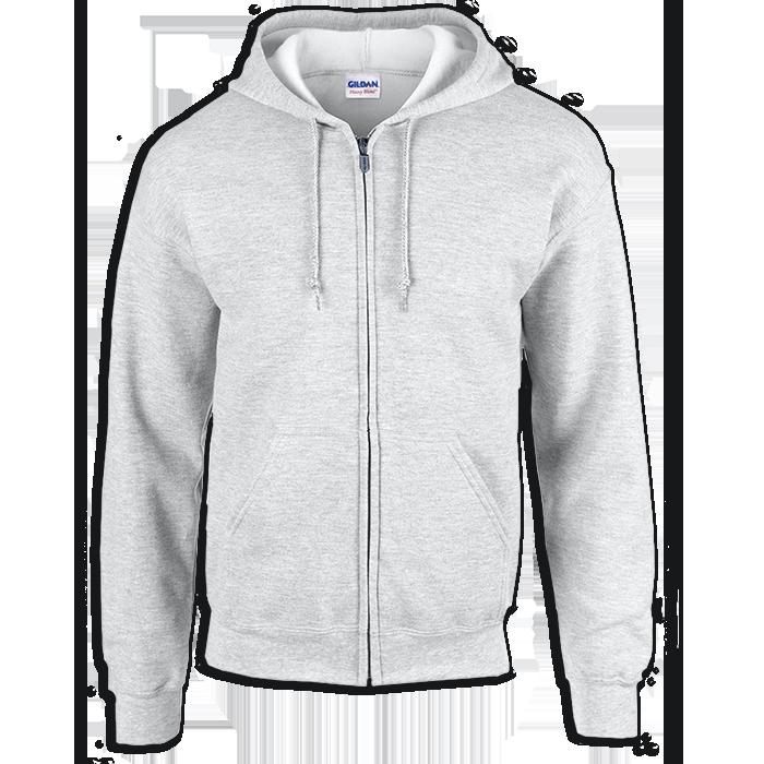 jpg download Classic Fit Full Zip Hooded Sweatshirt from Gildan