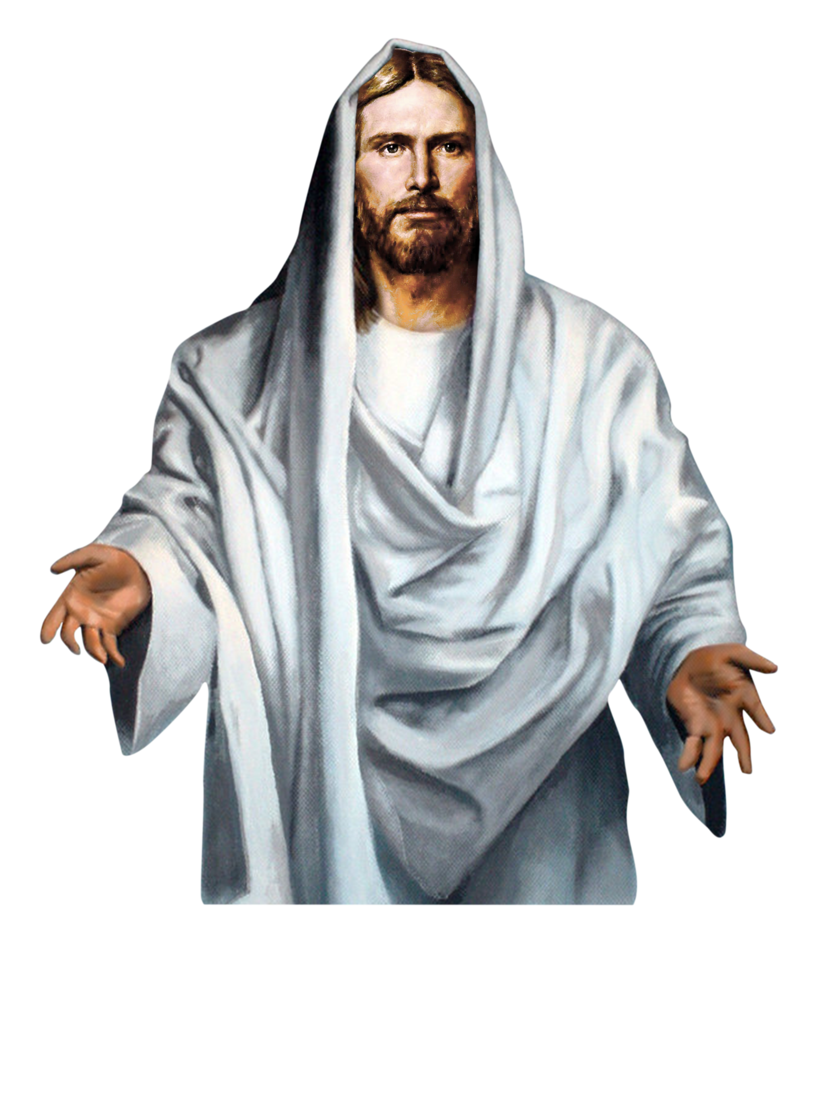 clip black and white stock Transparent jesus. Christ png image purepng
