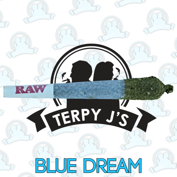 clip art free library Terpy J Blue Dream Terpene Infused CBD Distillate Dipped Pre