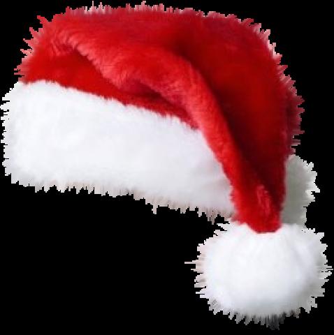 picture royalty free Beanie transparent cap hd. Christmas santa claus hat