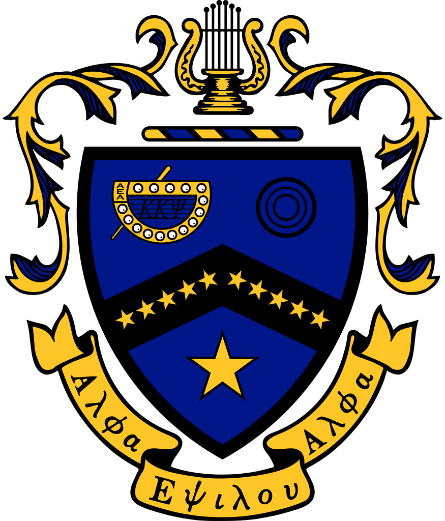 vector library Kappa psi coat of. Vector crest file