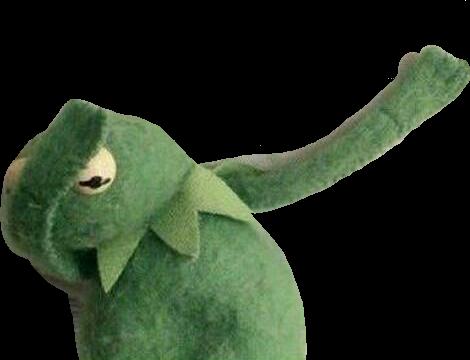 clip transparent library Dab frog kermitthefrog kermitmemes kermit