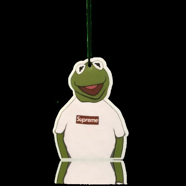 banner freeuse download Kermit x Supreme Air Freshener