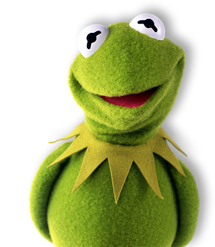 banner transparent library Kermit the Frog