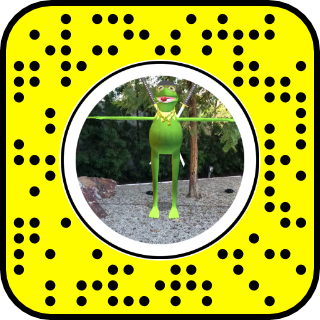 vector freeuse stock Knockoff Kermit the frog