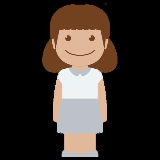 picture free stock Vector avatar child. Person white girl female