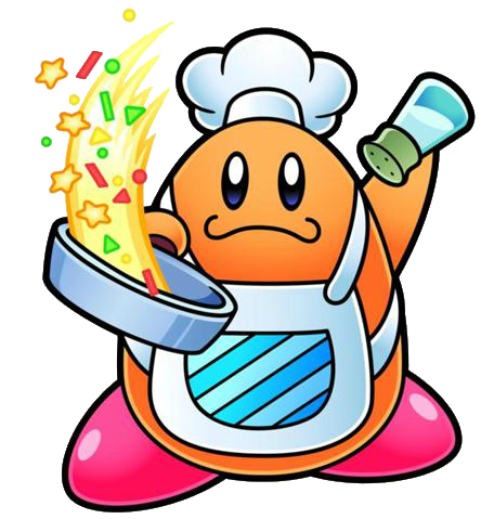 jpg download transparent kirby chef #116988888