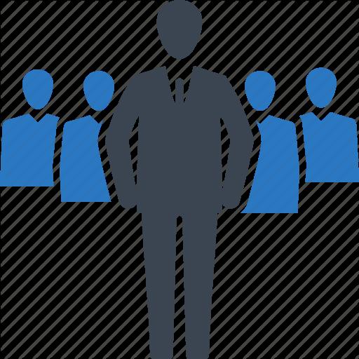 svg transparent download Icon png businessman leader. Vector business team