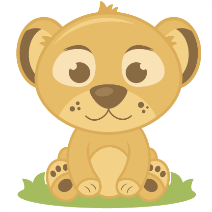 graphic black and white stock Transparent lion baby.  png for free