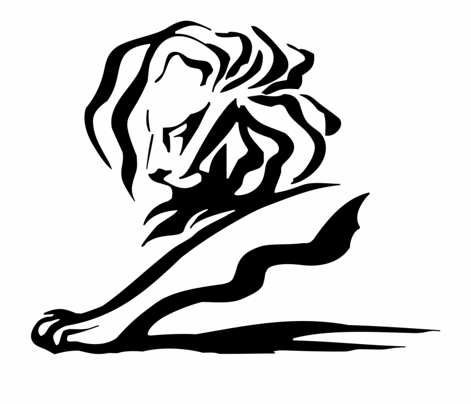 picture free library Cannes lions logo png. Transparent lion eps