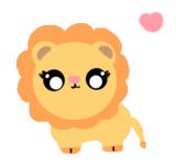svg freeuse stock By bubblegummkittyy on deviantart. Transparent lion kawaii